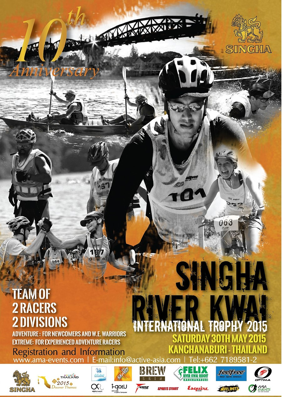 Singha River Kwai International Trophy Adventure Race 2015