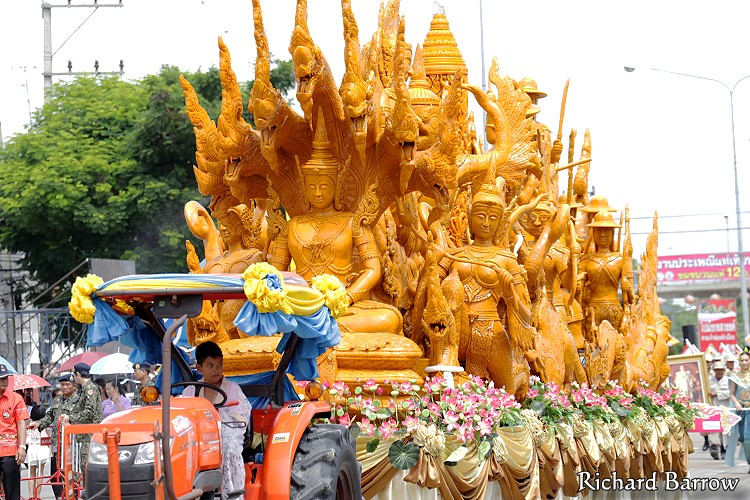 Suphan Buri Candle Festival